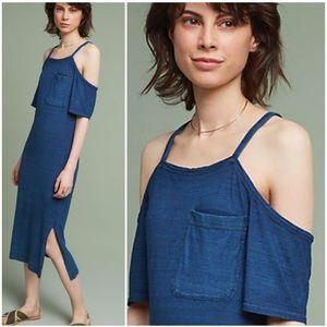 Anthropologie Cloth & Stone Hilde Midi Dress